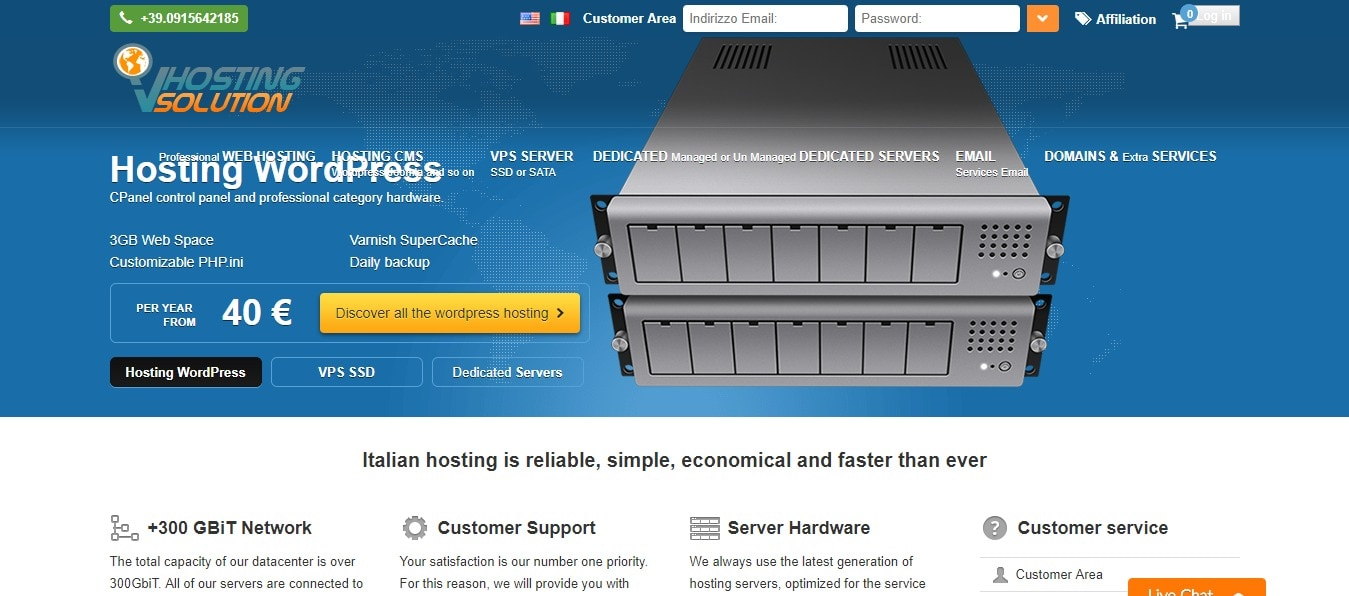 Vhosting Solution Coupons Codes