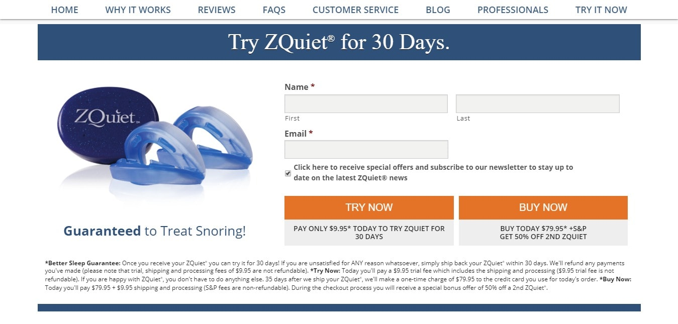 Zquiet coupon code