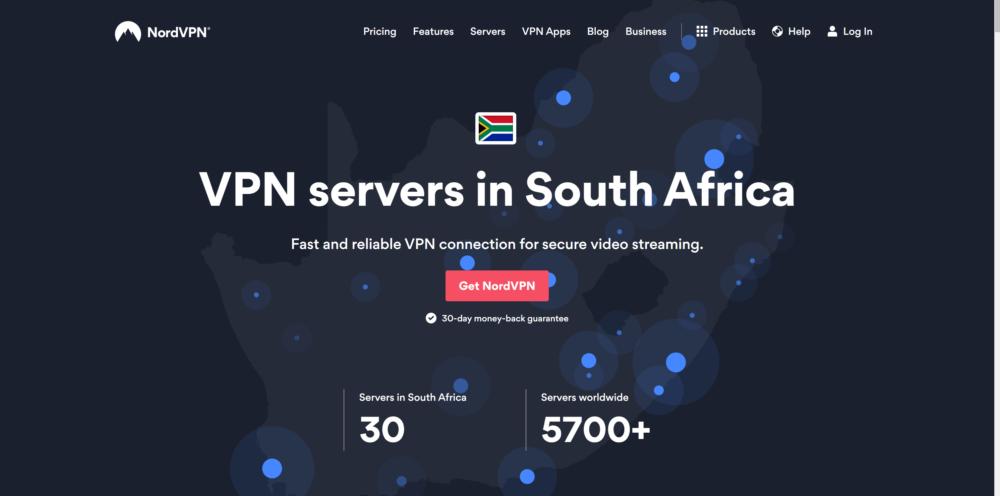 South Africa NordVPN Servers