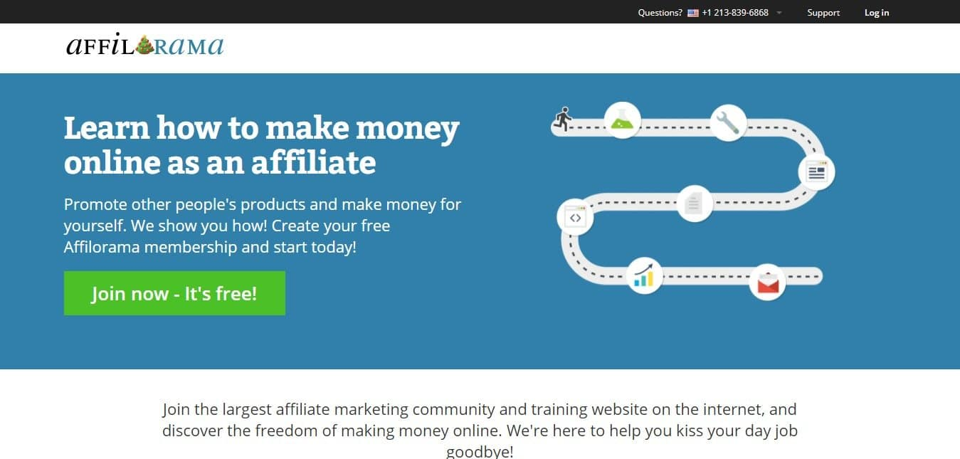 Afilarama Learn how to make money online as an affiliate