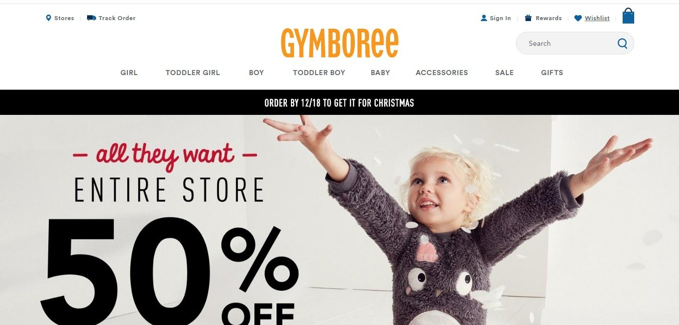 Gymboree Coupons & Offers