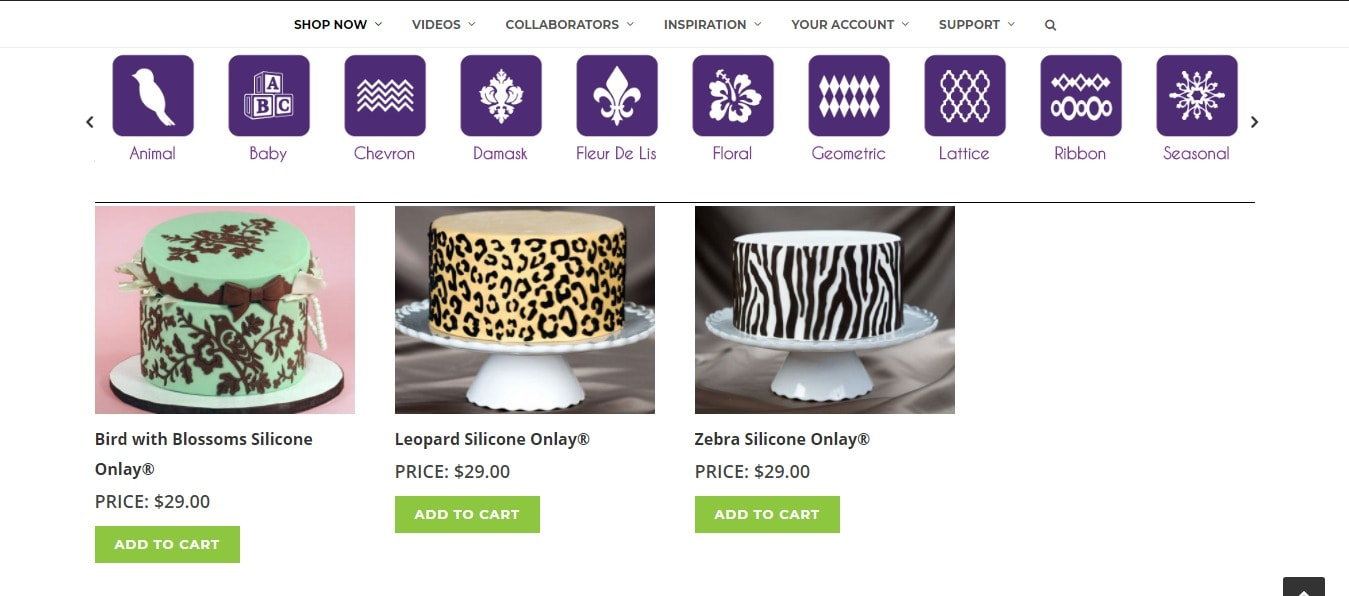 Marvelous Molds- Cake decorating molds
