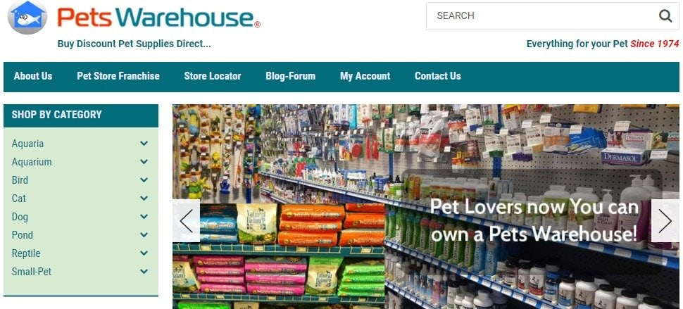 Latest} Pets Warehouse Coupon Codes September2019- Get 50% off