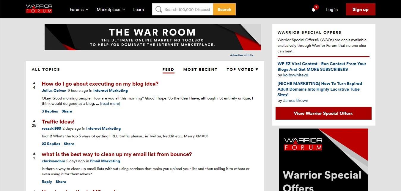 Warrior Forums