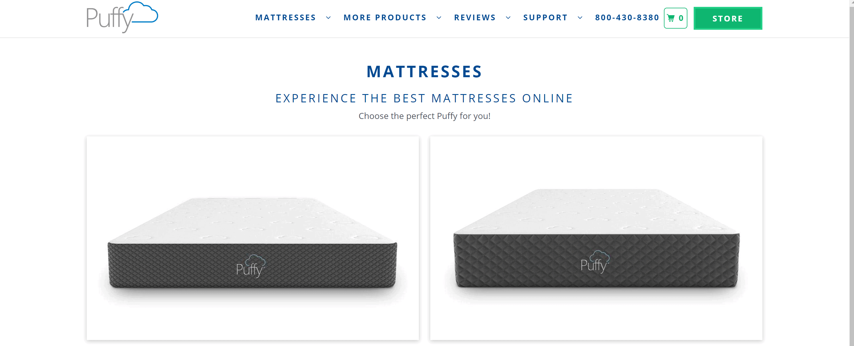 Pufffy mattress coupons and discount