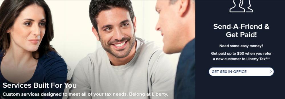 Tax Preparation Service Liberty Tax Service