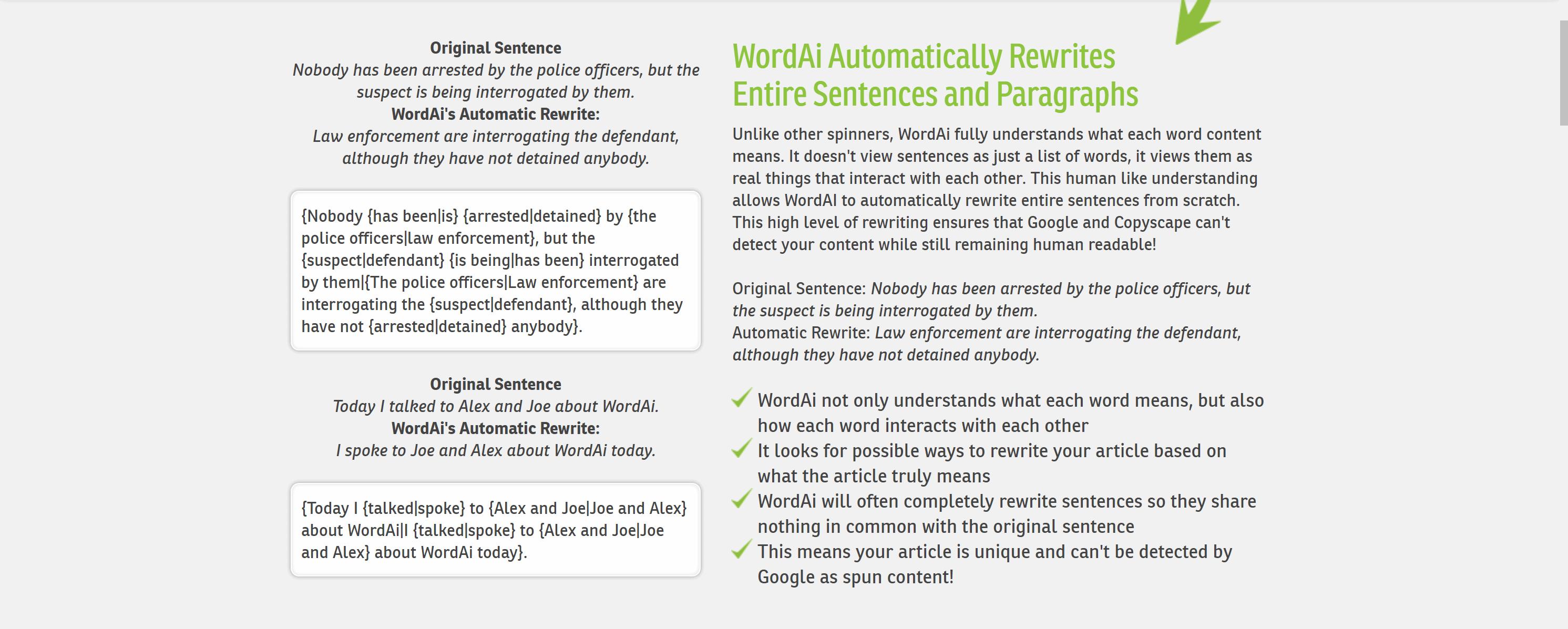 Wordai article rewriter- WordAI coupon codes