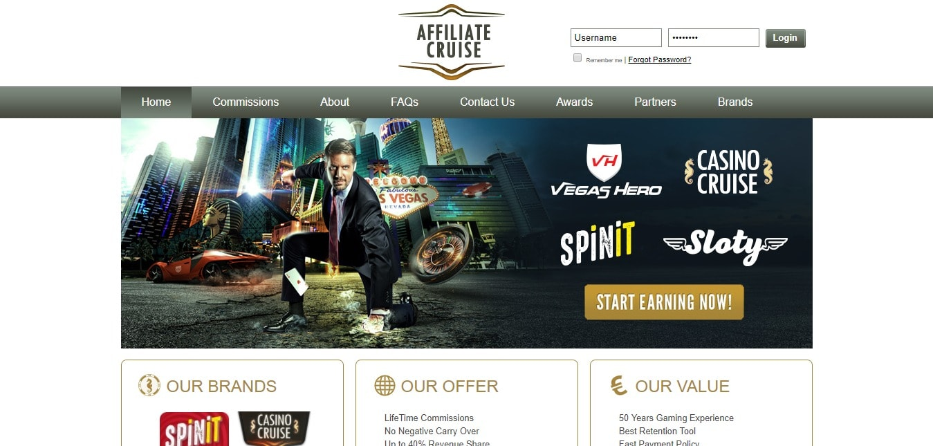 Affiliate Cruise- Earn Money Now
