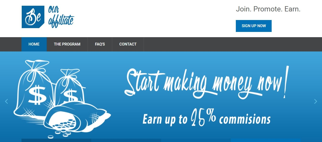 Be Our Affiliate Affiliate Programs