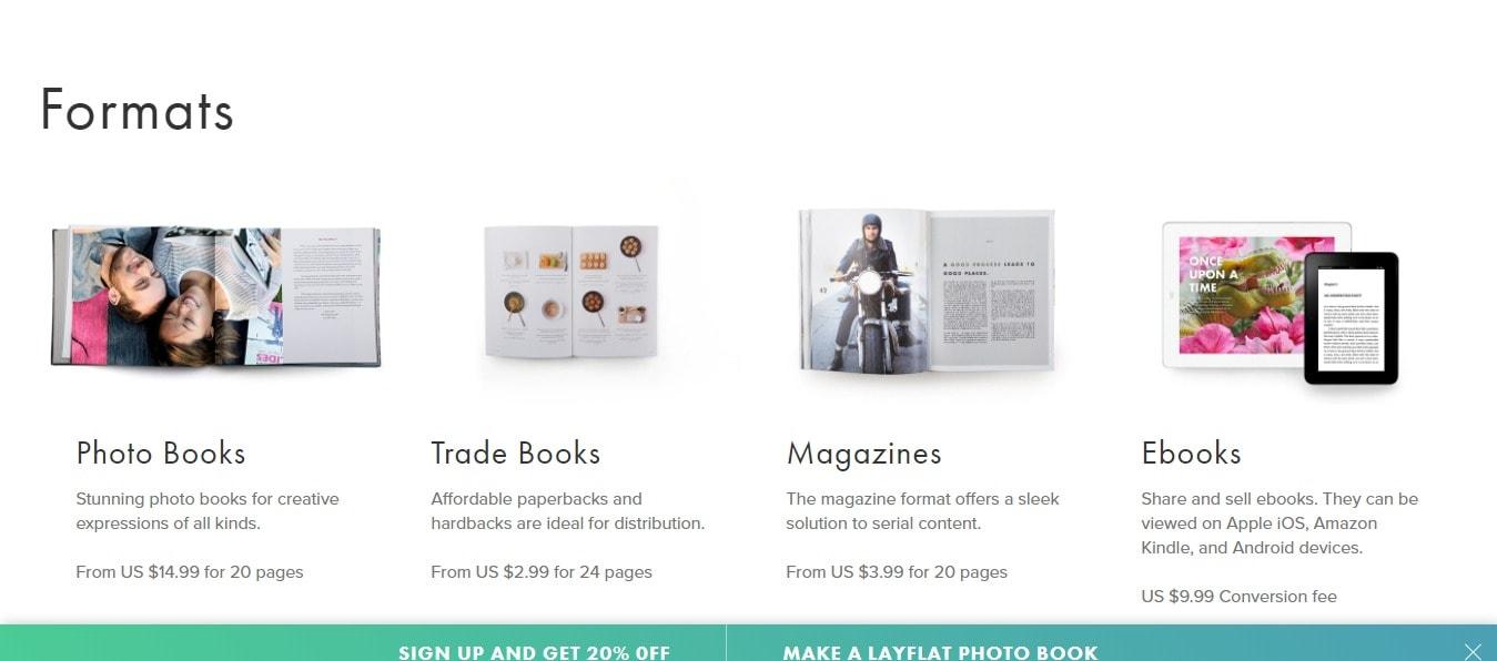 Blurb formats- popular blurb coupon codes