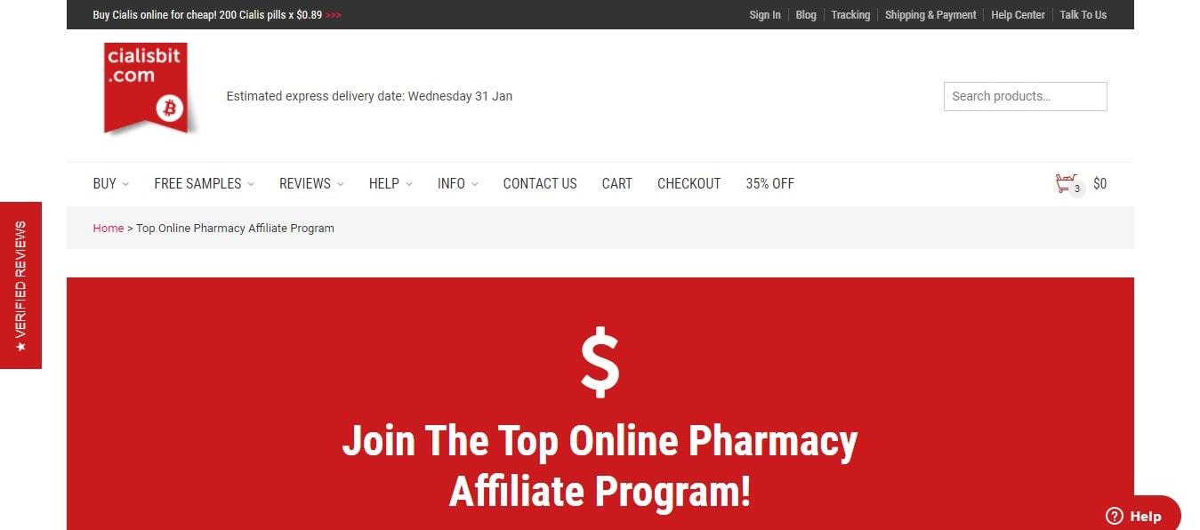 Cialisbit.com affiliate program for pharmacy
