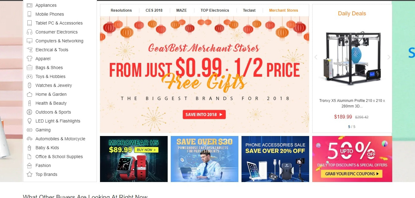 GearBest Coupon Code and Deals