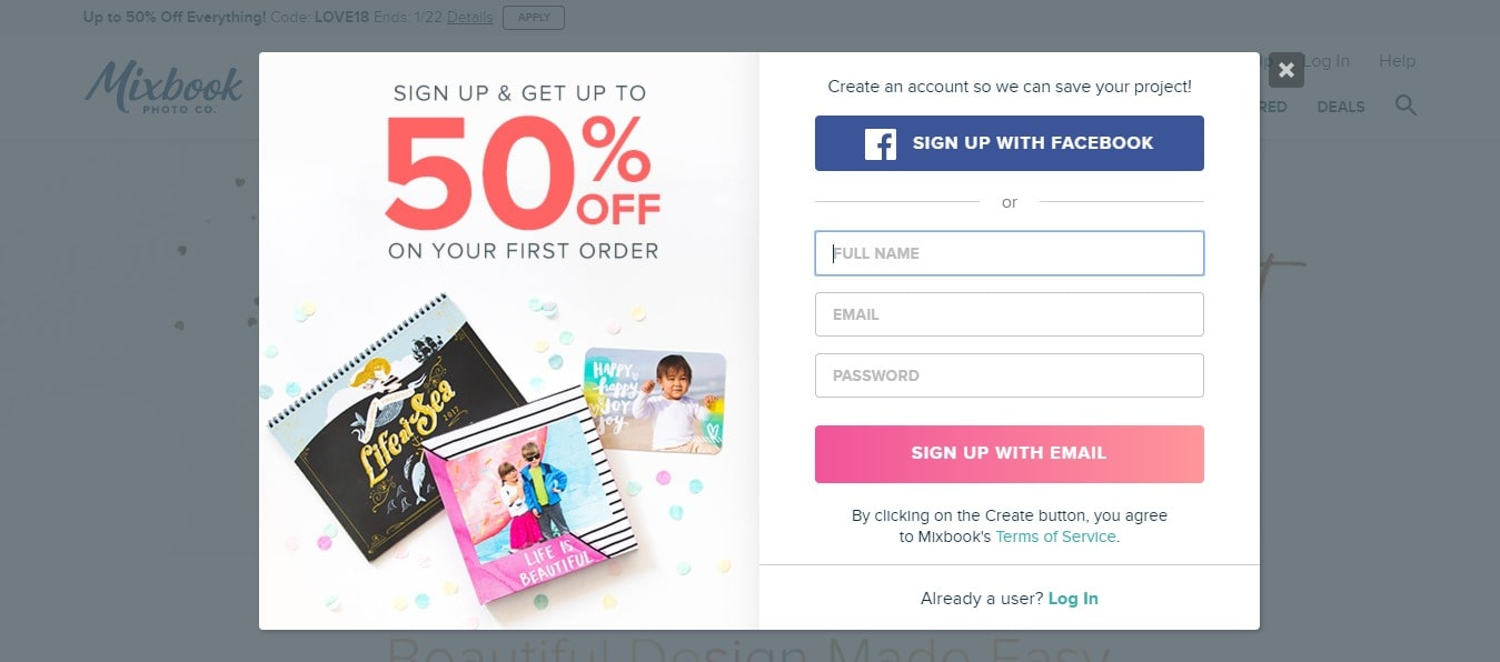 Latest] Mixbook Coupon Codes September2018- Get 50% Off