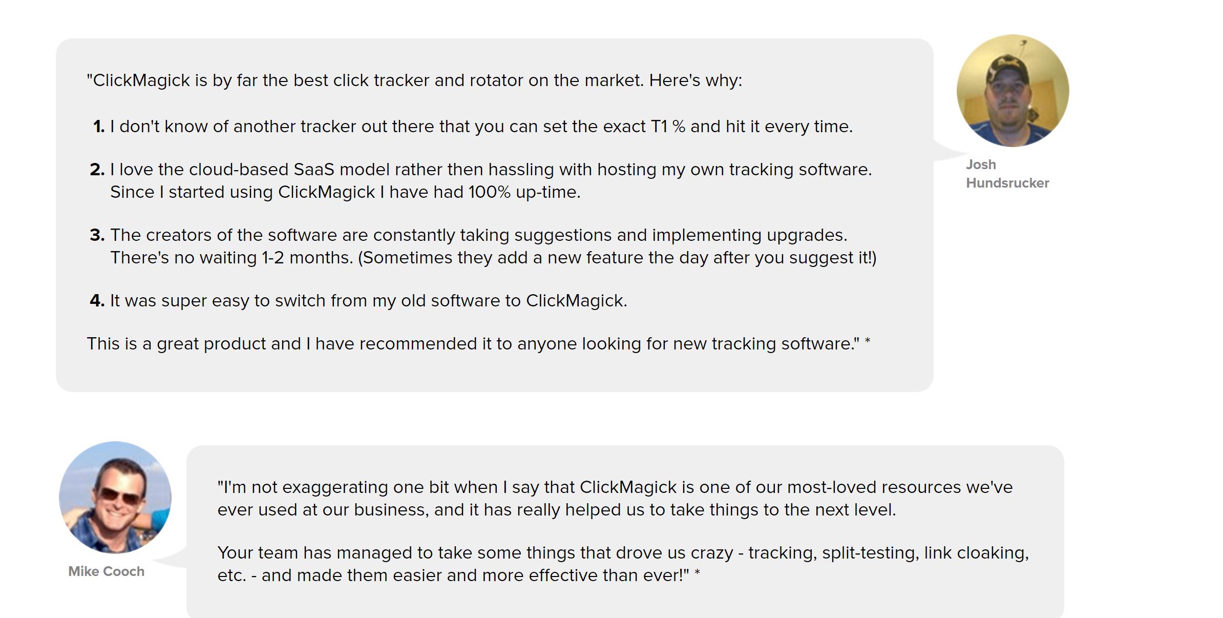 ClickMagick customer reviews and coupons