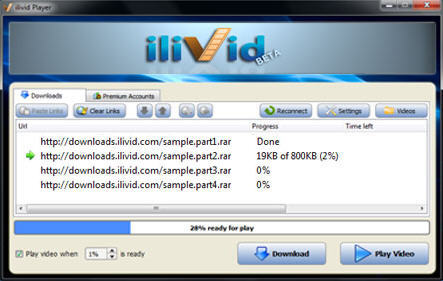 Ilivid download processing software