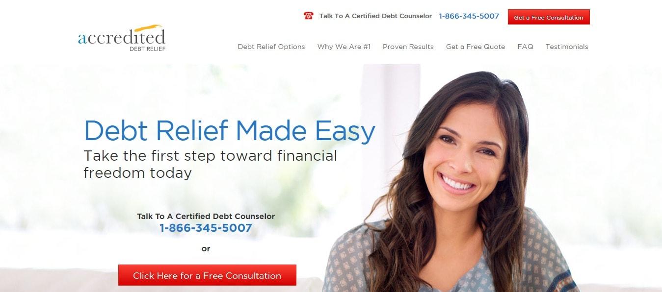 Accredited Debt relief Program