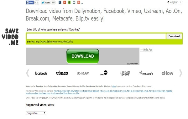 Savevideos.me - Download videos from youtube