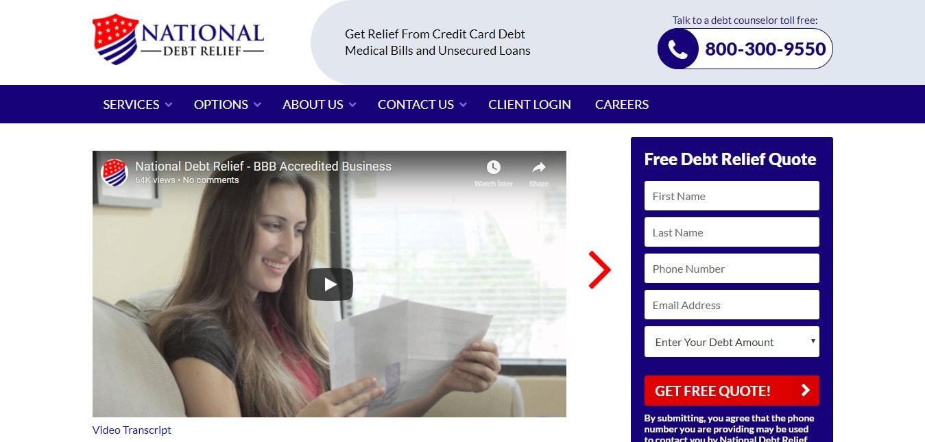 National Debt Relief Discount Programs