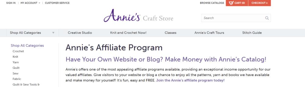 Annie-s-Art-Affiliate-Programs