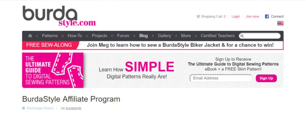 BurdaStyle-Art-Affiliate-Programs