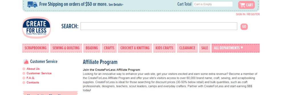 CreateForLess-Art-Affiliates-Programs