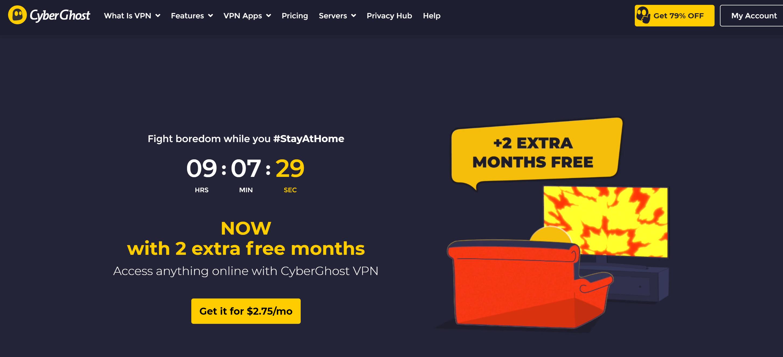 Cyber Ghost Pro VPN discount