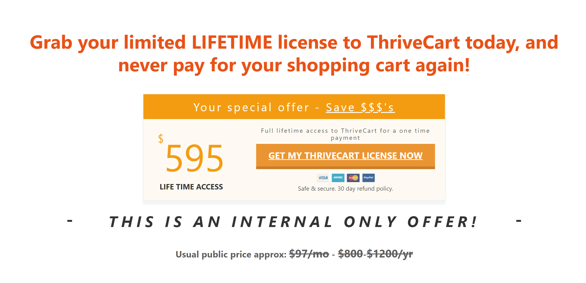 Thrivecart review discount coupon thrivecart offer