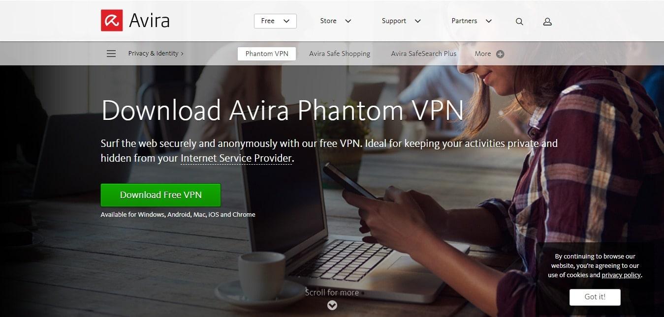 Avira VPNs For Finland - Download Avira phantom