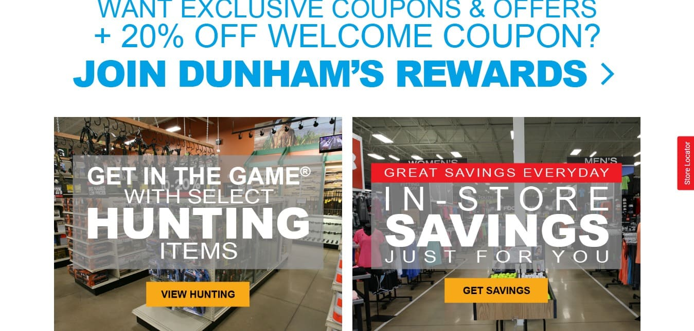 Dunham's sports coupon - grab best deal