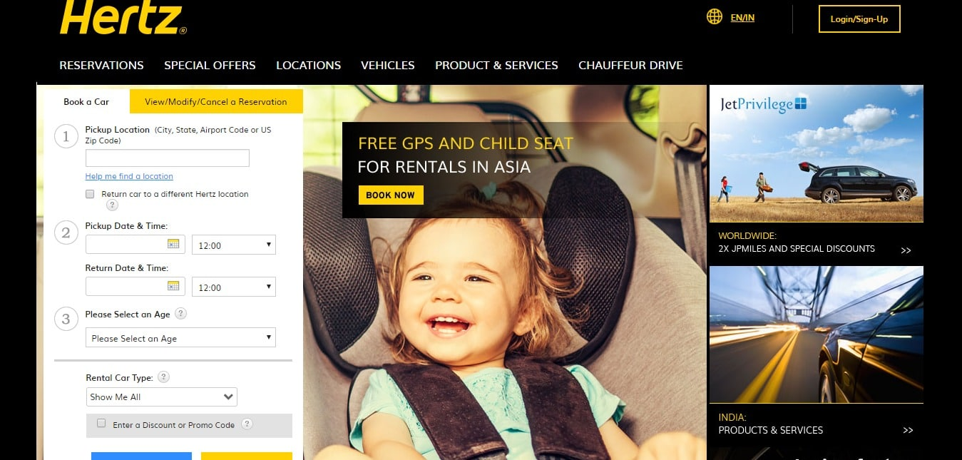 Book A Car Online With Hertz Coupon Codes