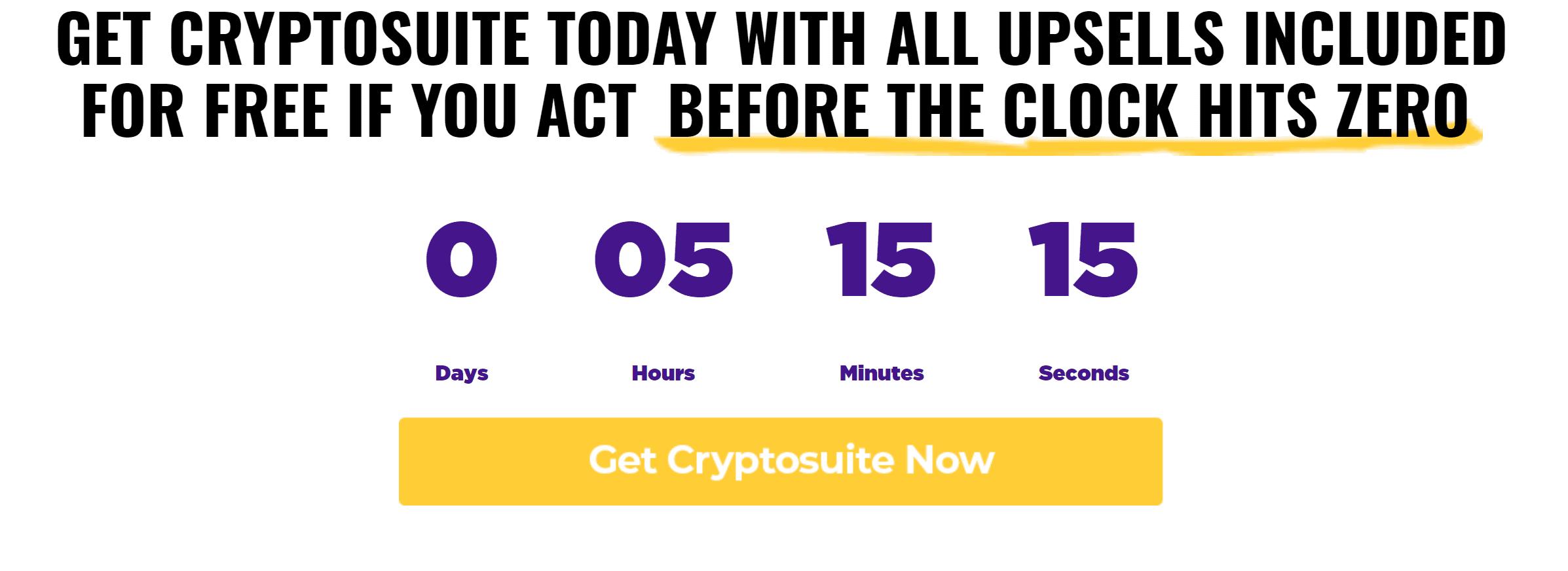 Cryptosuite Review software bonus discount