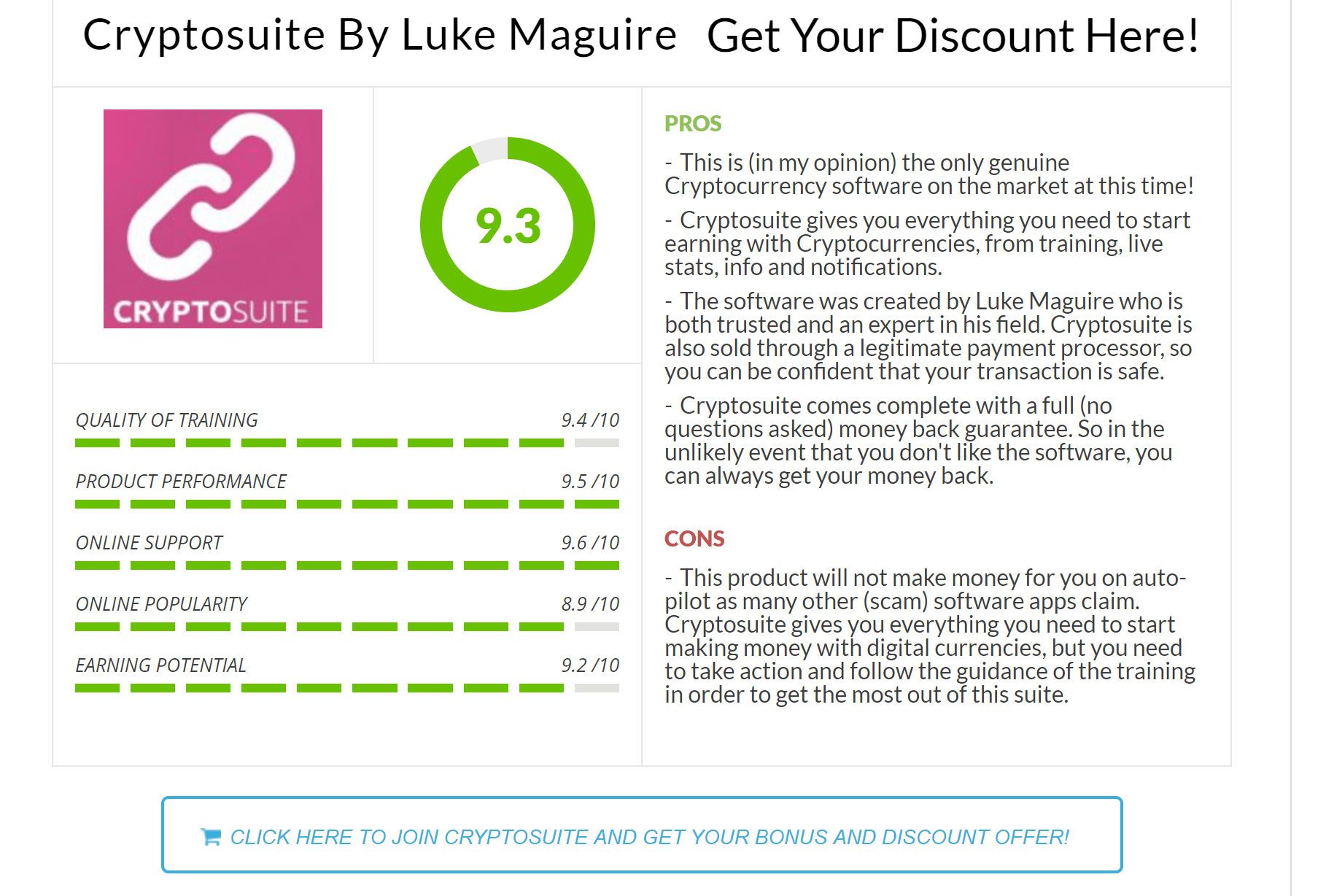 cryptosuite review
