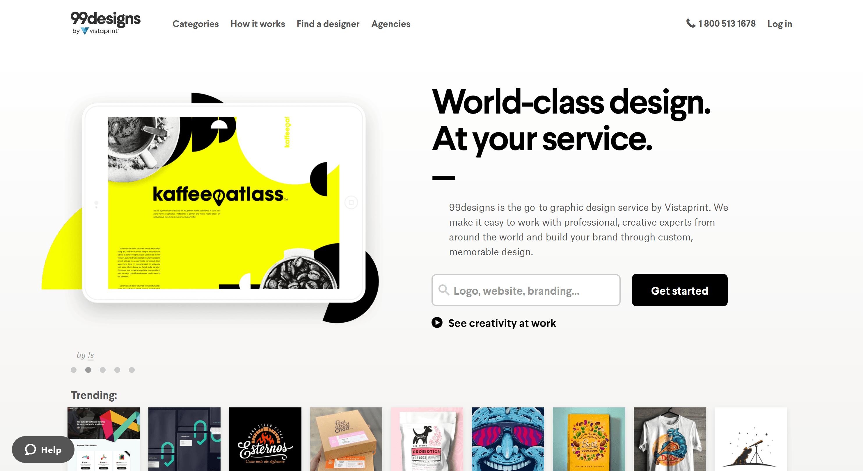 99Designs- tailor brands alternatives