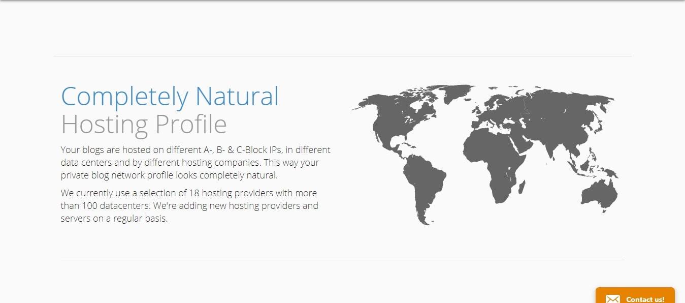 Natural hosting profile