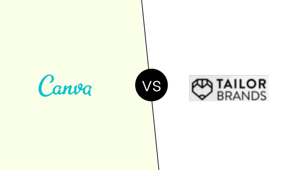 Tailor Brands vs Canva