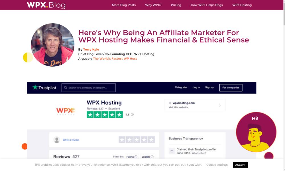 WPX Hosting affiliate program