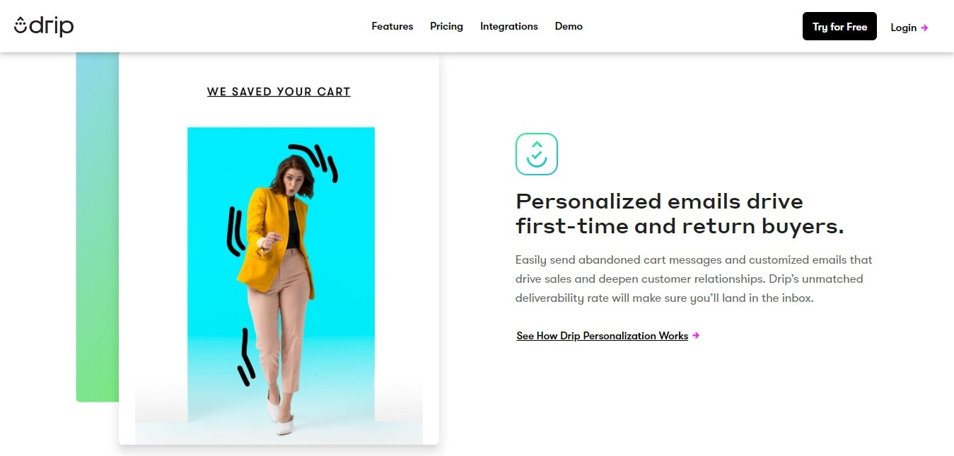 Personalized Emails- Drip Email Discount Coupon Codes