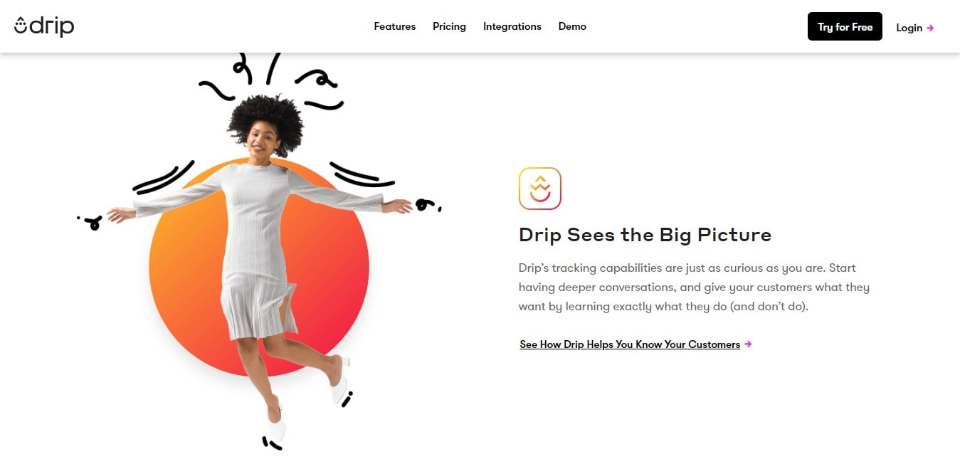 Drip Sees the big picture- Drip Email Discounts