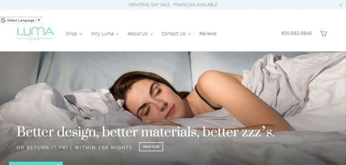 Luma Sleep Coupon Codes