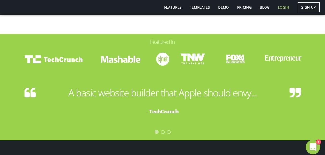 Website Builder - Dashbord