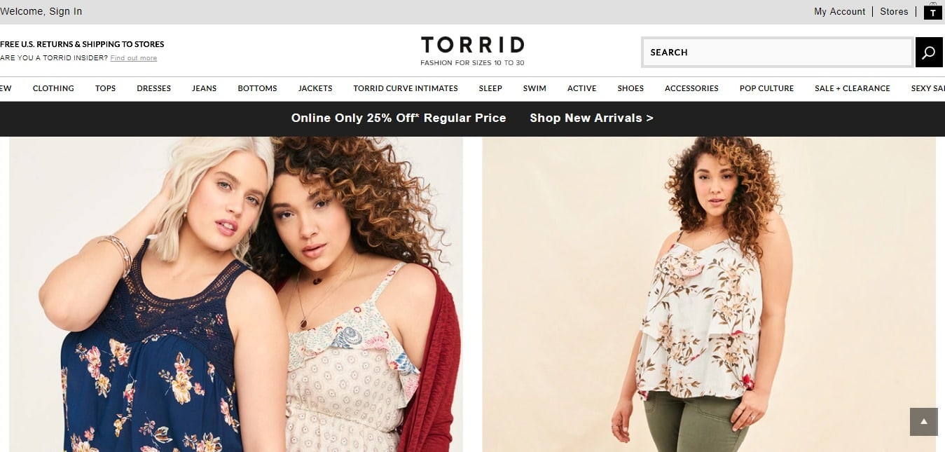 Torrid Coupons & Offers- Torrid Refund and other Services