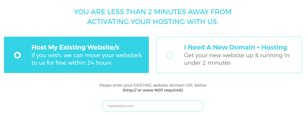 WPX Hosting domain-