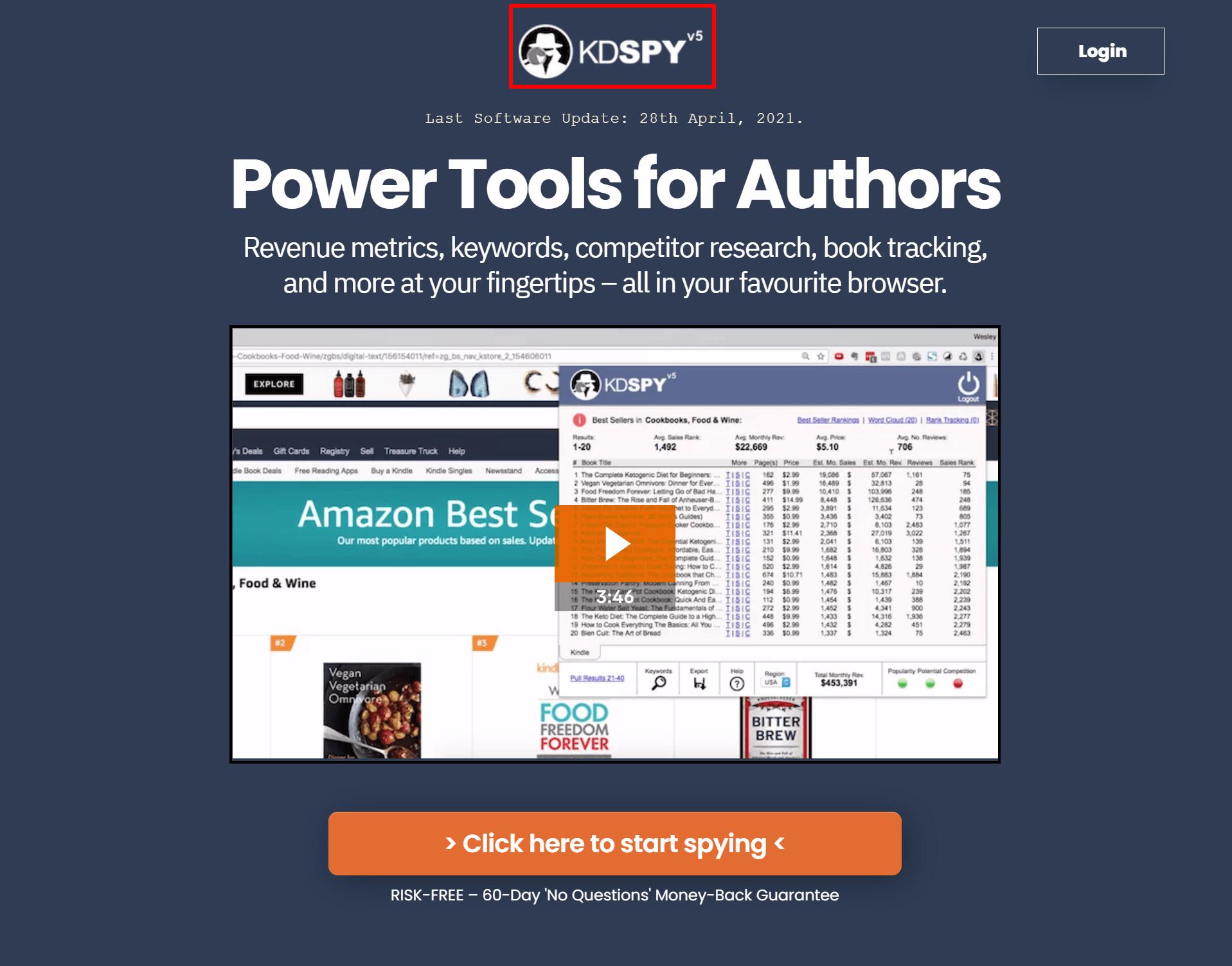 KDSPY-Kindle-Keyword-s-Niche-s-Genre-s-Research-Tool