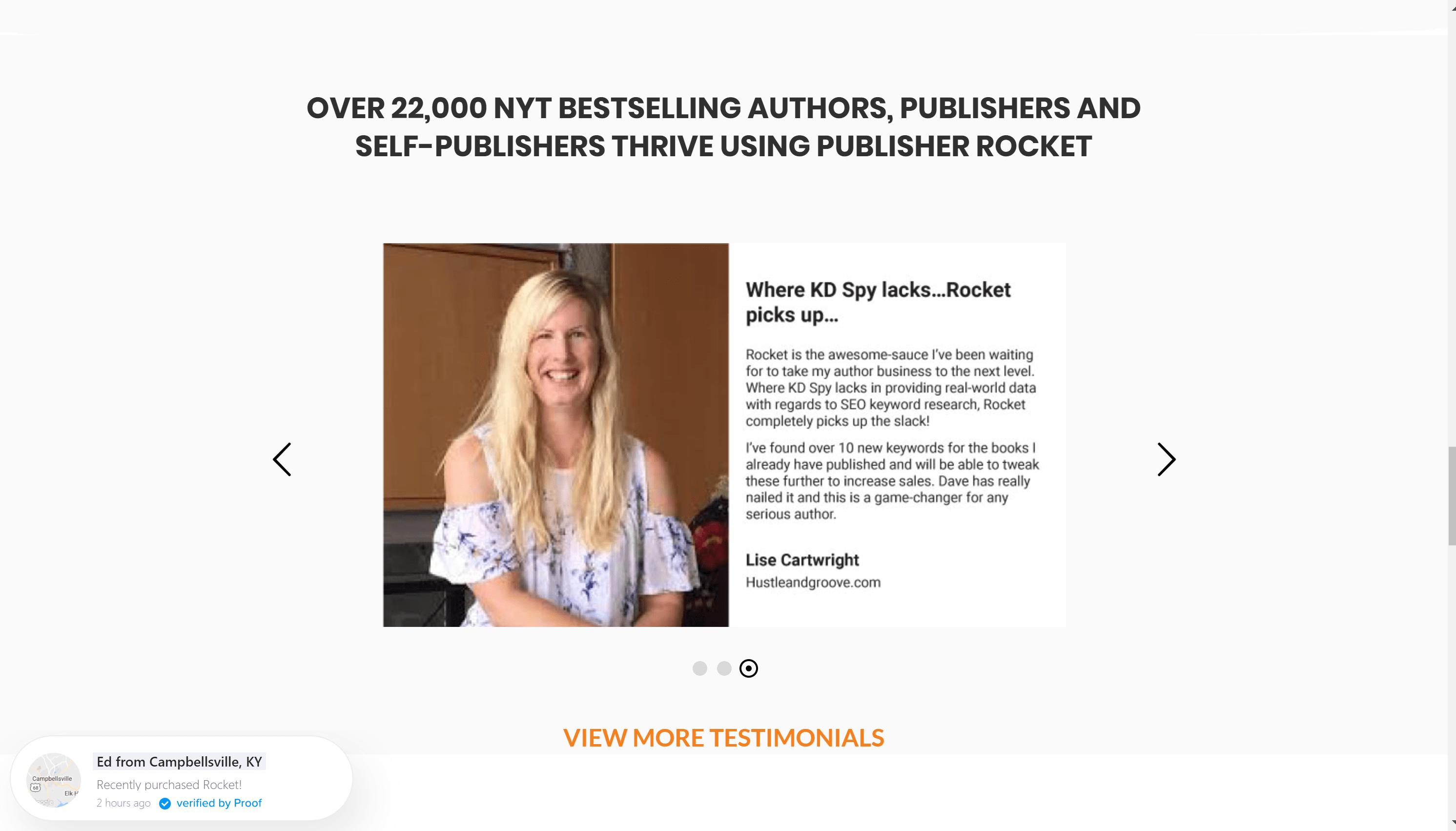 Publisher Rocket Coupon Code - Publisher Rocket testimonials - Best Seller