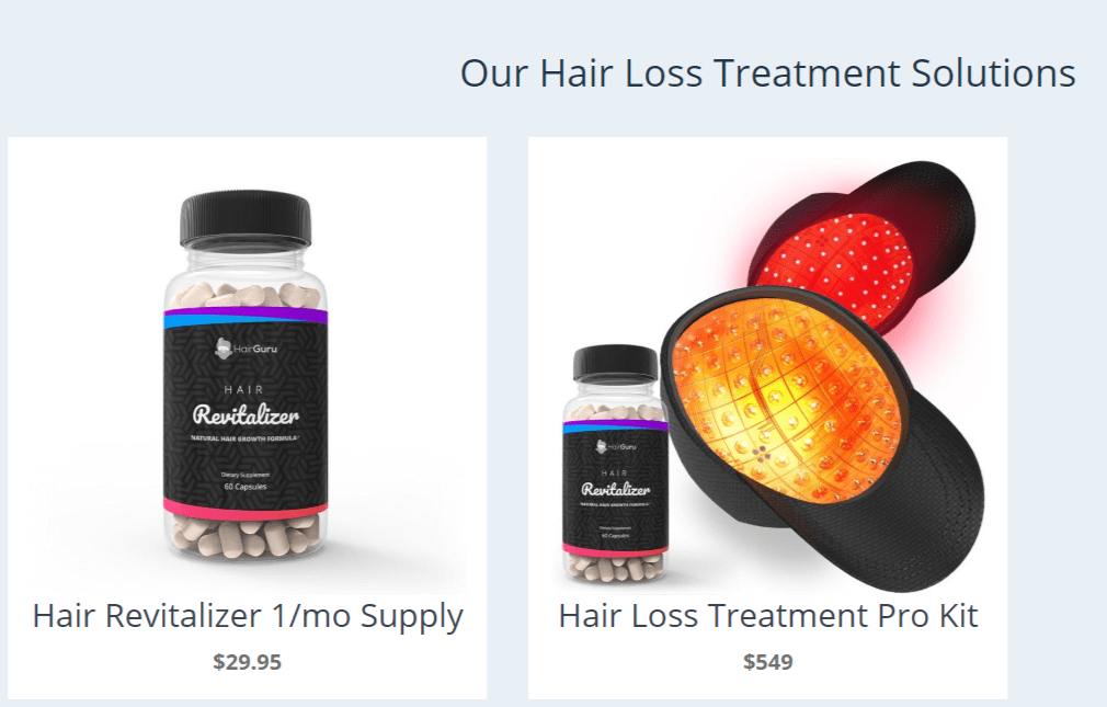 Hair Guru- -Hair Loss Solutions