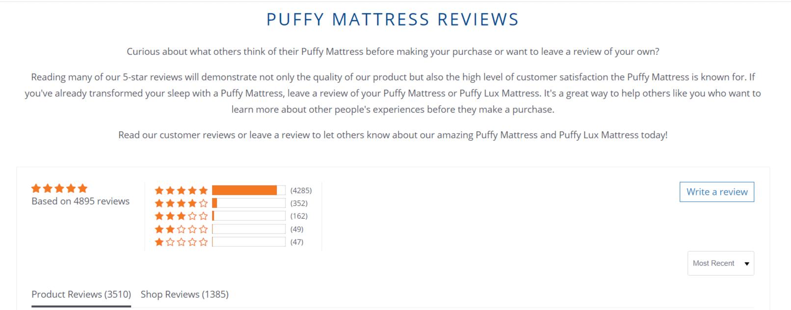 Puffy Coupon Codes- Reviews