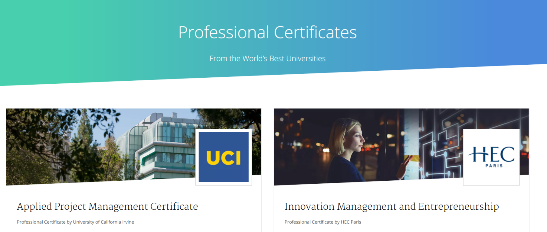 Coursera Coupon Codes- Certificates