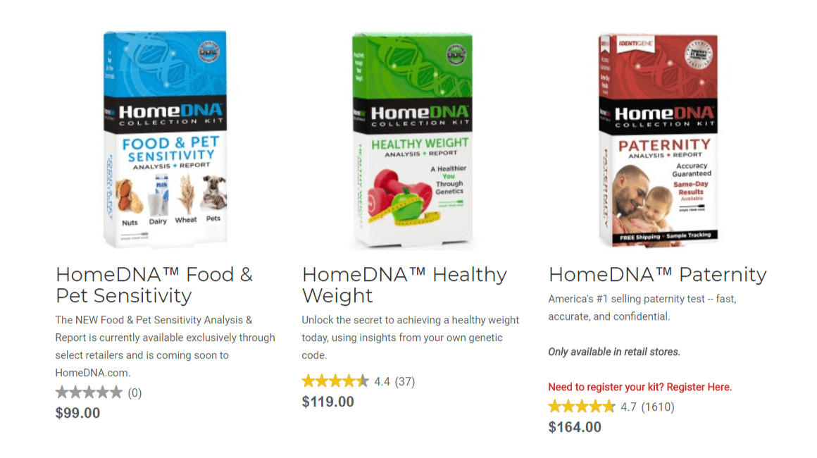 HomeDNA Coupon Codes- Health Packs