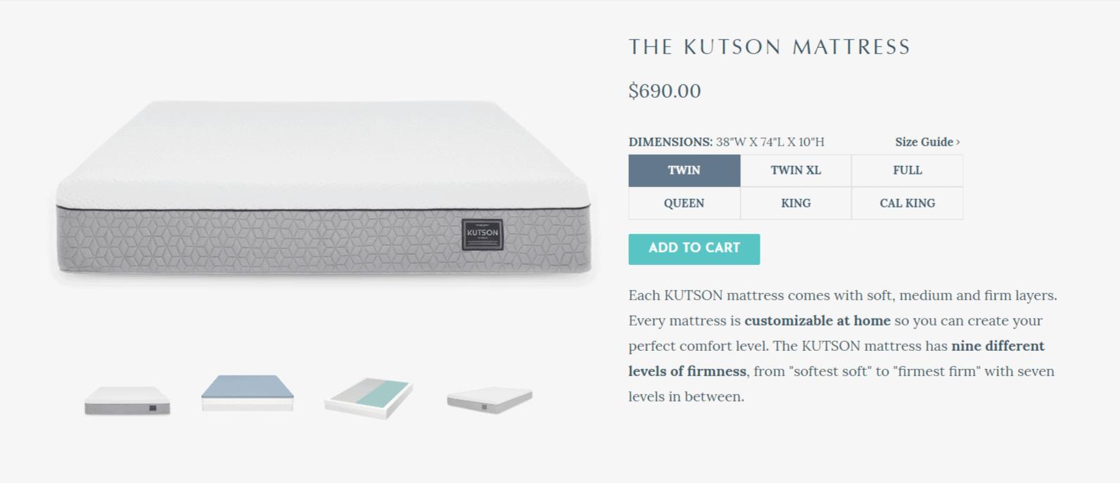 Kutson Coupon Codes- Pricing