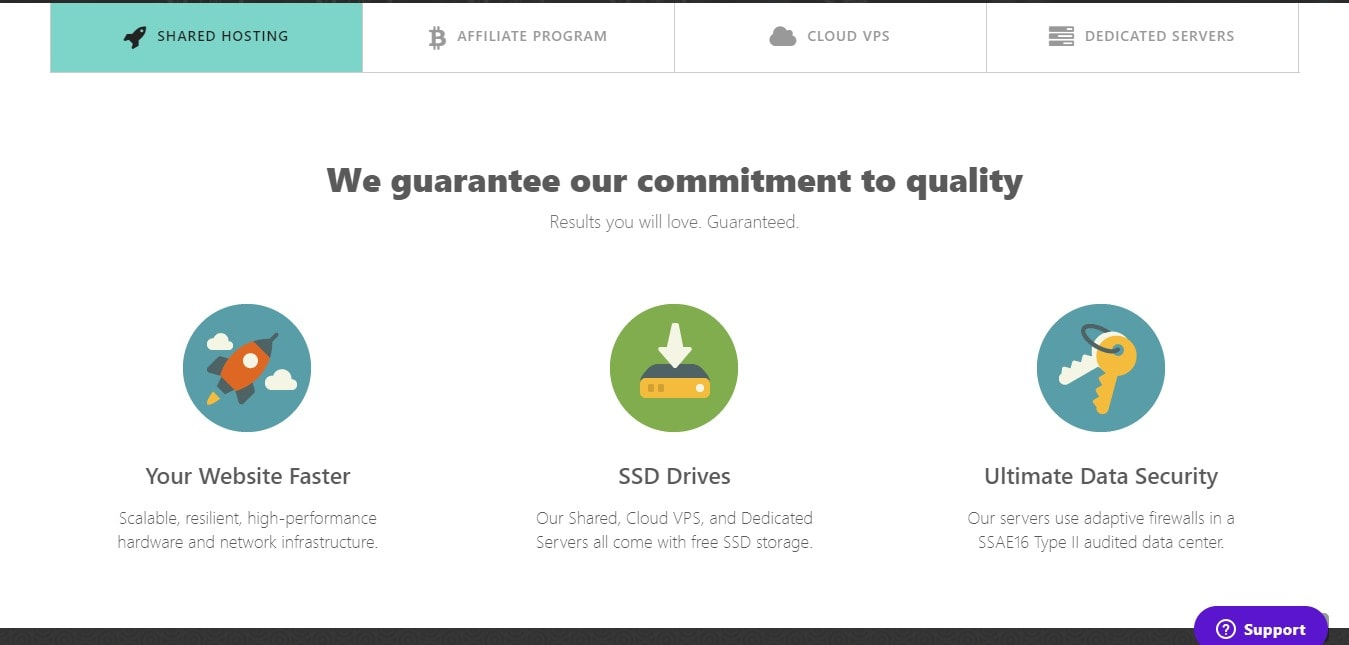 Commitment on Coinhost.io Coupon Codes